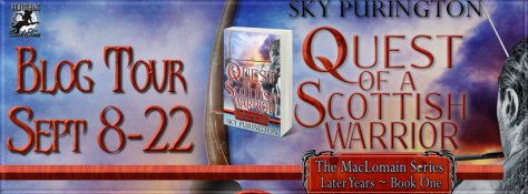 Quest of a Scottish Warrior Banner 851 x 315