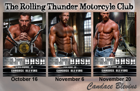 Bash Three Covers with dates - promo
