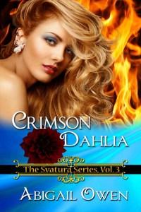 crimson dahlia cover
